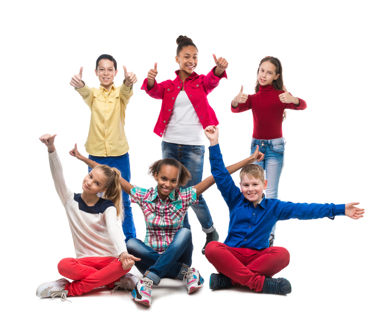 our aim at Daystars - happy kids